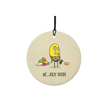 Mr Jelly Bean Car Air Freshener