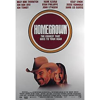 Homegrown (Video) (1998) Poster video originale