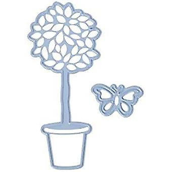 Marianne Design Topiary and Butterfly Creatable Die, Blue