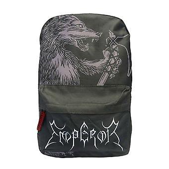 Emperor Backpack Bag Wolf Band Logo new Official Black