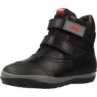Camper Boots Peu Track Kids Color Black