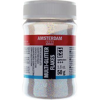 Amsterdam Multi Glitter Flakes 50g