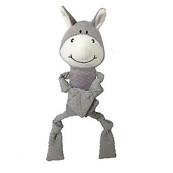 """PetLou EZ Squeakers Donkey 11"""" - Dog Toy"""