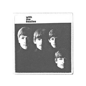 De Beatles patch met de Beatles album nieuwe officiële zwart geborduurd opstrijkbare