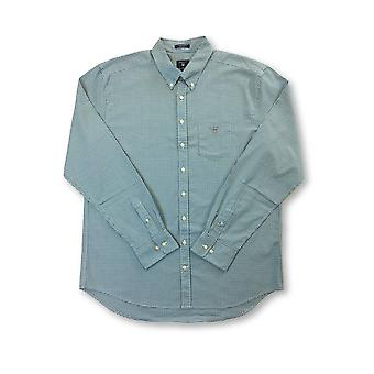 Gant Comfort Oxford cotton regular fit shirt in Kelly Green check