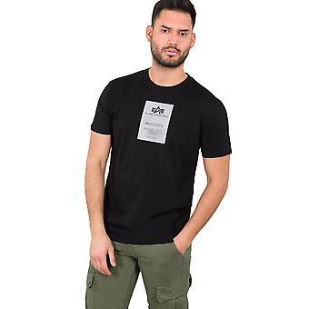 Alpha Industries Herren T-Shirt Reflective Label