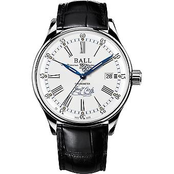 Ball NM3288D-LL2CJ-WH TrainMaster LIMITED EDITION Endeavour horloge wit