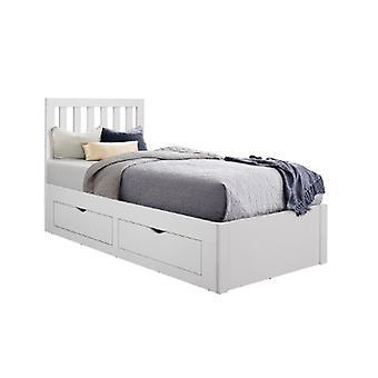 90CM APPLEBY BED WHITE