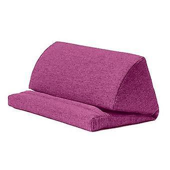 Distel wol effect iPad Kindle Tablet Boek Stand Foam Pillow Lap Rest Cushion