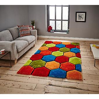 Noble House 30782 30782 Multi  Rectangle Rugs Funky Rugs