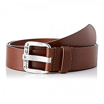 Diesel B-Star Brown Leather Belt H5906