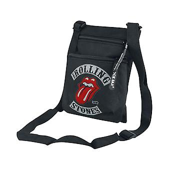 The Rolling Stones Crossbody Bag 1978 Tour Band Logo new Official Black