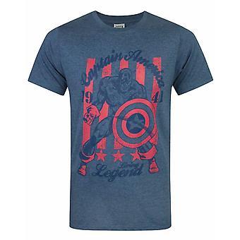 Captain America Living Legend Men's T-Shirt