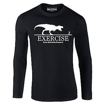 現実のグリッチ運動のモチベーションはメンズTシャツを必要としました - 長袖