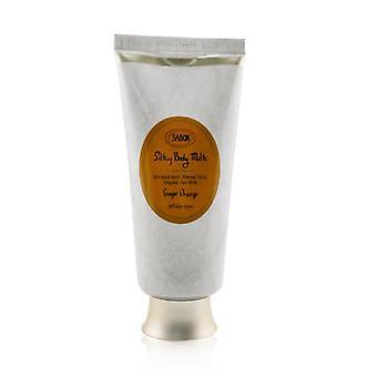 Sabon Silky Body Milk - Ginger Orange - 200ml/7oz
