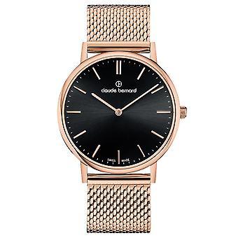 Claude Bernard - Wristwatch - Unisex - Slim Line - 20214 37RM NIR