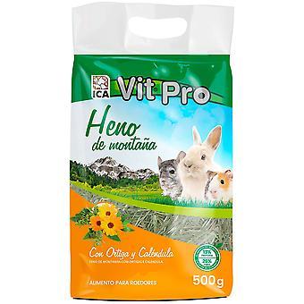 Ica Hay Vit Pro 500Gr Nettle Calendula (Small pets , Hay)