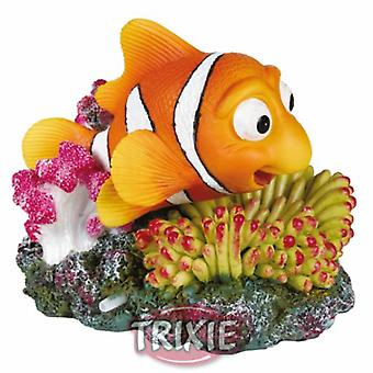 Trixie Clownfish and Coral with Air Outlet (Fish , Decoration , Ornaments)
