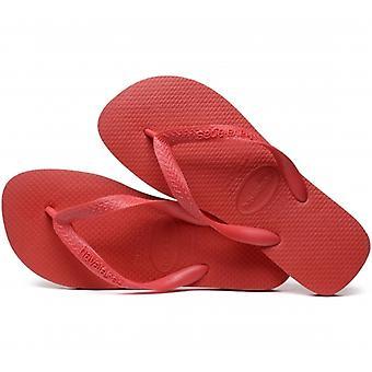 Havaianas Hav Top Ladies Flip Flops Ruby Red