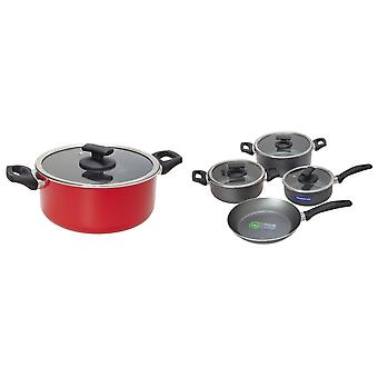 Tramontina Toronto Cookware Set (7 Pieces)