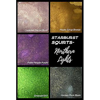 Lindy's Stamp Gang Northern Lights Starburst Squirts Set