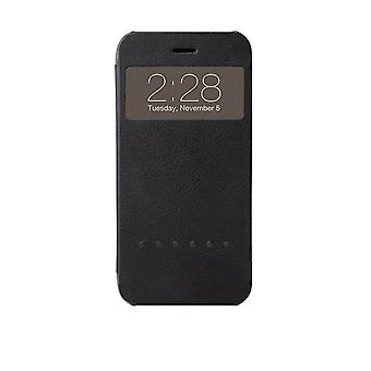 Ozaki Hel-ooo OC579BK Protective Case with Information Window for Apple iPhone 6 Black