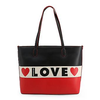 Love Moschino Original Women Fall/Winter Shopping Bag - Black Color 37933