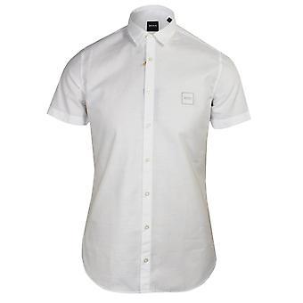 Hugo boss men's white magneton_ 1 shirt