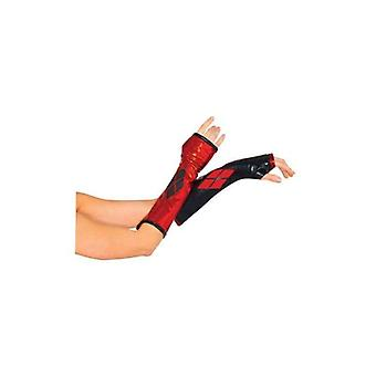 Rubie's Costume Co Harley Quinn Arm Warmers - Batman Gauntlets For Teens And Adults