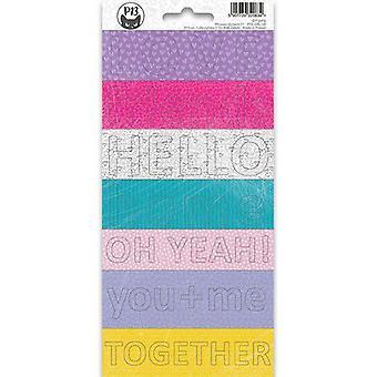 Piatek13 - Sticker vel Girl Gang Zin 02 P13-GRL-38 10,5x23 cm