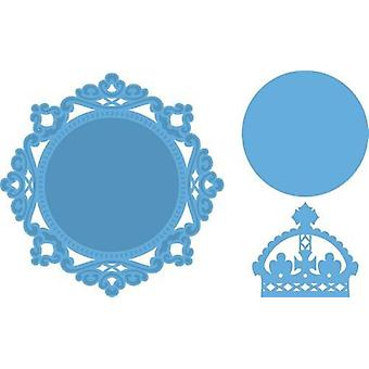 Marianne Design Creatables leikkaus kuolee - Petra&s Circle & Kruunu LR0317