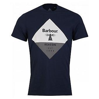 Barbour Beacon Beacon Diamond T-Shirt