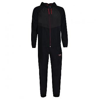 EA7 Men's Ventus7 Black Tracksuit