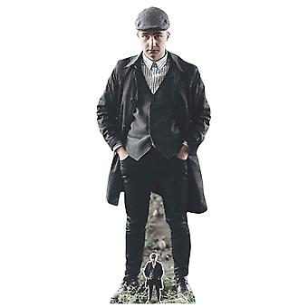 Peaky Blinders Style Gangster with Striped Shirt Cardboard Cutout / Standee / Standup