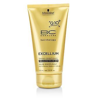Schwarzkopf BC Excellium Q10 + Omega 3 Zähmung Conditioner (für grobe reifes Haar) 150ml/5,1 Unzen