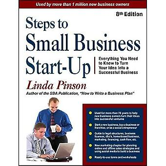 STEPS TO SMALL BUSINESS START (Small Business Strategies)