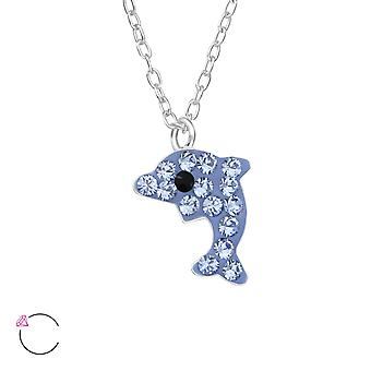 Dolphin - 925 Sterling Silver Necklaces - W32755x