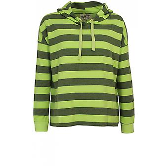 A Postcard from Brighton Striped Hooded Sweatshirt