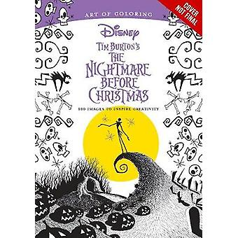 Art Of Coloring Tim Burtons The Nightmare Before Christmas