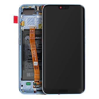 Honor 10 LCD Touch Screen Digitizer + 3400mAh Original Battery- Grey