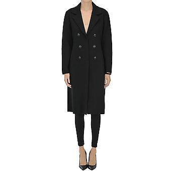Nenette Ezgl266138 Women's Black Wool Coat