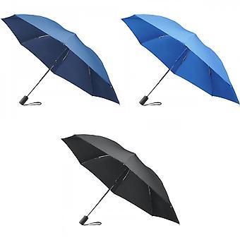 Marksman 23 polegadas 3 seção auto aberto reversível guarda-chuva