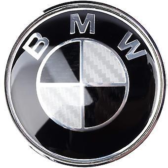 BMW Black Wheel Centre Cap Hub Badge 68mm 1PCS For 13 5 7 Series, X6, M3, Z4, E46, E90