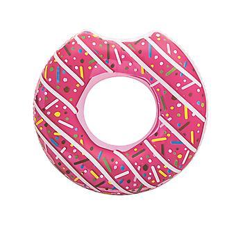 טבעת שחייה סופגניות 107 ס מ טבעת טבעת סופגניות ורוד מ 12 שנים