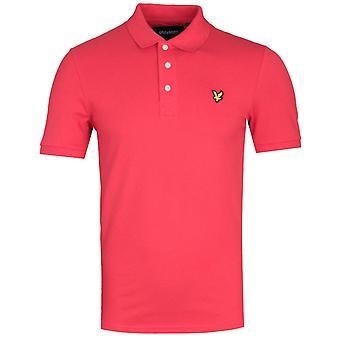 Lyle & Scott Slim Stretch Gala Red Polo Shirt