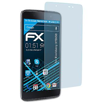 atFoliX Verre film protecteur compatible avec Blackberry DTEK50 9H Hybride-Verre