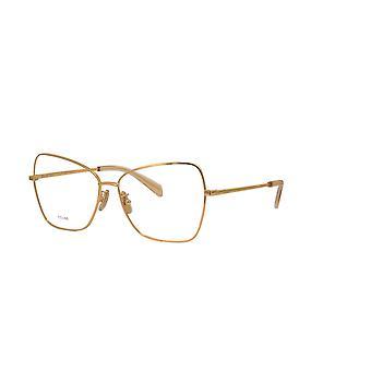 Celine CL50024U 030 Shiny Endura Gold Glasses