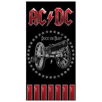 AC/DC Rock Badehåndklæde
