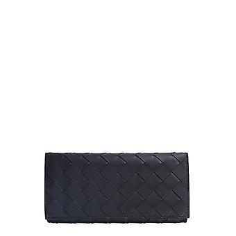 Bottega Veneta 635567vcpq48803 Men's Black Leather Wallet