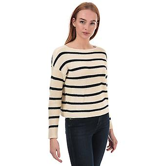 Women's Only Marina Life Striped Jumper in Blue